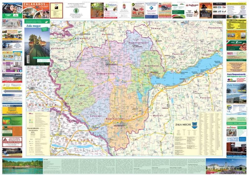 zala megye térkép Vásárlás: Zala megye térkép Stiefel 1: 140 000 (ISBN: 5998504317234)