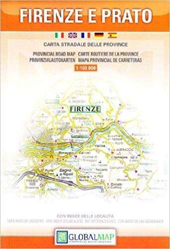 Vasarlas Firenze E Prato Tartomany Terkep Isbn 9788879141499