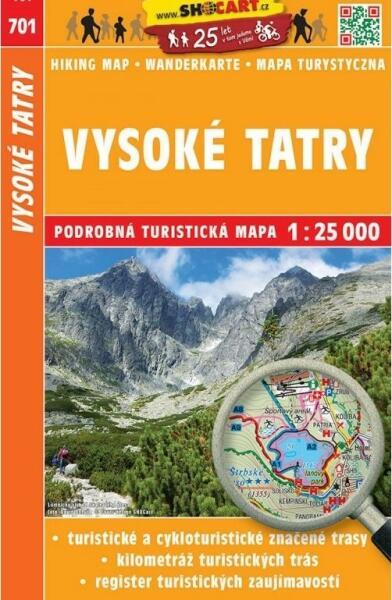 Vasarlas Magas Tatra Turistaterkep 701 Isbn 9788072247738