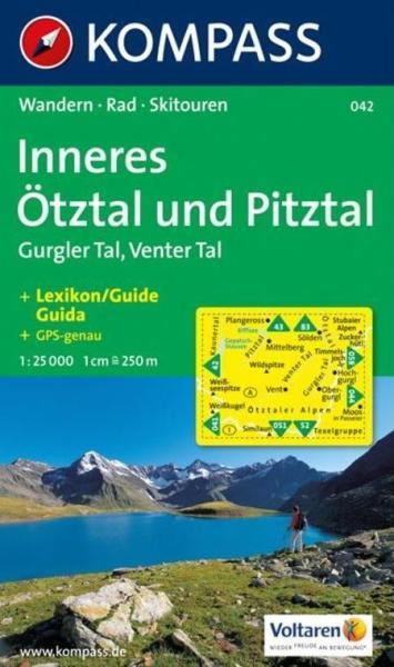 Vasarlas 042 Inneres Otztal Turista Terkep Kompass 1 25 000 2011