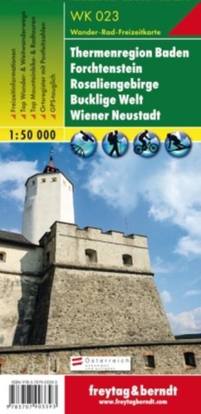 wiener neustadt térkép Vásárlás: Thermenregion Baden · Rosaliengebirge · Forchtenstein