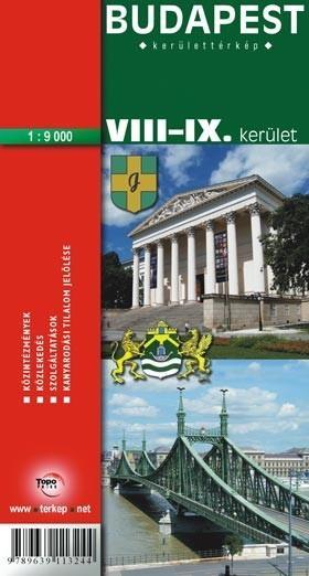 Vasarlas Budapest Viii Ix Kerulet Terkep 2003