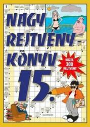 Nagy rejtvénykönyv 15 (ISBN: 9771586516155)