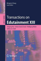 Transactions on Edutainment XIII (ISBN: 9783662543948)
