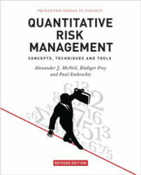 Quantitative Risk Management: Concepts, Techniques and Tools (ISBN: 9780691166278)
