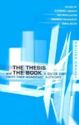 Thesis the Bk-2nd /E 2/E (ISBN: 9780802085887)