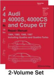 Audi 4000s, 4000cs and Coupe GT (B2 Repair Manual: 1984, 1985, 1986, 1987: Including Quattro and Quattro Turbo (ISBN: 9780837617565)