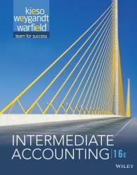 Intermediate Accounting (ISBN: 9781118743201)