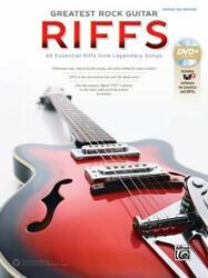 The Greatest Rock Guitar Riffs: Guitar Tab, Book DVD-ROM (ISBN: 9781470623425)