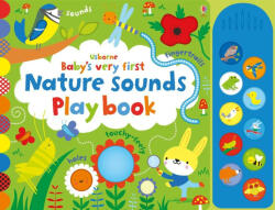Baby's Very First Nature Sounds Playbook (ISBN: 9781474921749)