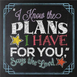 I KNOW THE PLANS I HAVE FOR YOU SAYS THE - Harvest House Publishers (ISBN: 9780736964067)
