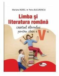 Limba și literatura română. Caietul elevului pentru clasa a V-a (ISBN: 9786067066333)