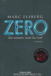 ZERO - Sie wissen, was du tust (ISBN: 9783734100932)