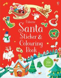 Santa Sticker and Colouring Book (ISBN: 9781474932820)