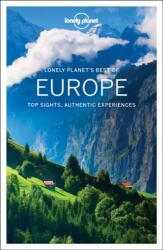 Best of Europe travel guide - Európa útikönyv - Lonely Planet (ISBN: 9781786572394)