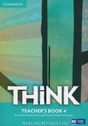 Think 4 Teacher's Book (ISBN: 9781107574168)