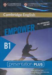 Cambridge English Empower pre-Intermediate Presentatipon Plus DVD-ROM (ISBN: 9781107466685)