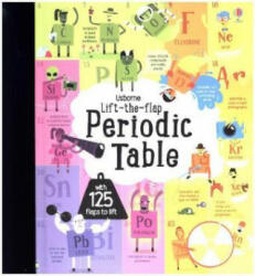 Lift the Flap Periodic Table (ISBN: 9781474922661)