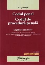 Codul penal. Codul de procedura penala Act. 10 Ianuarie 2018 (ISBN: 9786062710194)