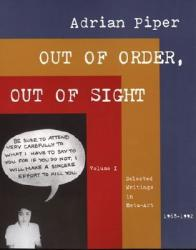 Out of Order, Out of Sight (ISBN: 9780262661522)
