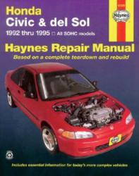 Honda Civic and del Sol, 1992-1995 (ISBN: 9781563921186)