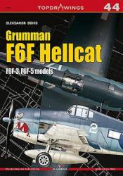 Grumman F6F Hellcat F6F-3, F6F-5 models (ISBN: 9788365437563)