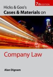 Hicks & Goo's Cases and Materials on Company Law (2011)