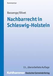 Nachbarrecht in Schleswig-Holstein (ISBN: 9783555018768)