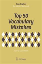 Top 50 Vocabulary Mistakes (ISBN: 9783319709802)