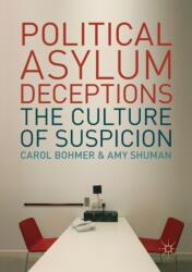 Political Asylum Deceptions - The Culture of Suspicion (ISBN: 9783319674032)