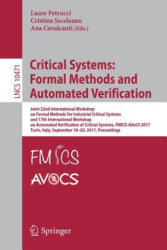 Critical Systems: Formal Methods and Automated Verification (ISBN: 9783319671123)