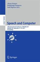 Speech and Computer (ISBN: 9783319664286)