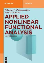 Applied Nonlinear Functional Analysis: An Introduction (ISBN: 9783110516227)