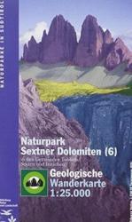 TO 6 Dolomitok geológiai térkép Pn Dolomiti di Sesto (ISBN: 9788883150708)