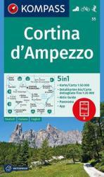 KK 53 Meran / Merano és környéke túra és kerékpáros térkép (ISBN: 9783854910596)