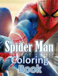 spiderman coloring book: spiderman coloring book - Ahmed Atef Alshapiny (ISBN: 9781984201485)