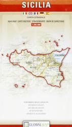 Szicília - Sicilia térkép / LAC (ISBN: 9788879143561)