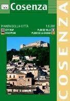 Cosenza várostérkép (ISBN: 9788879143219)