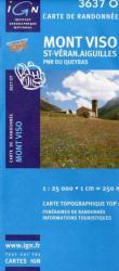 Mont Viso - St-Véran - Aiguilles turistatérkép / 3637 OT / IGN (ISBN: 3282113637022)