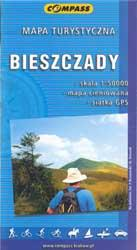 Bieszczady - Besszádok turistatérkép / Compass (ISBN: 9788389165213)