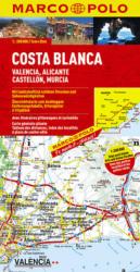 ŠPANĚLSKO COSTA BLANCA, VALENCIA, ALICANTE, CASTELLÓN, MURCIA 1: 200 000 (ISBN: 9783829740463)
