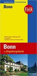 Falk Stadtplan Extra Standardfaltung Bonn 1 : 17 500 (ISBN: 9783827922311)