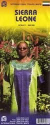 Sierra Leone térkép - ITM (ISBN: 9781553413967)