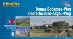Donau-Bodensee-Radweg kerékpáros atlasz Esterbauer 1: 50 000 Duna kerékpáros térkép (ISBN: 9783850000918)