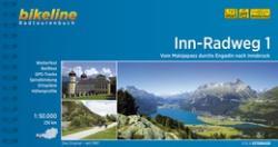 Inn kerékpárkalauz 1 / Inn-Radweg 1 / Esterbauer 2018 (ISBN: 9783850000130)
