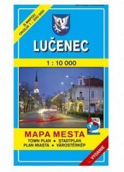 Lučenec / Losonc térkép (ISBN: 8586003322926)