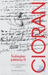 Indreptar patimas II (ISBN: 9789735033798)