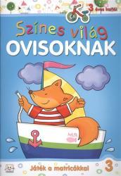 Színes világ ovisoknak - Játék a matricákkal 3 (ISBN: 9786155176289)