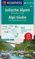 Julische Alpen Nationalpark Triglav - Kompass 064 (ISBN: 9783850264990)