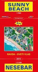 Nesebar térkép Domino 1: 7 000 1: 13 000 2013 (ISBN: 9789546511294)